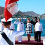 Presidente Peña Nieto abandera patrulla oceánica