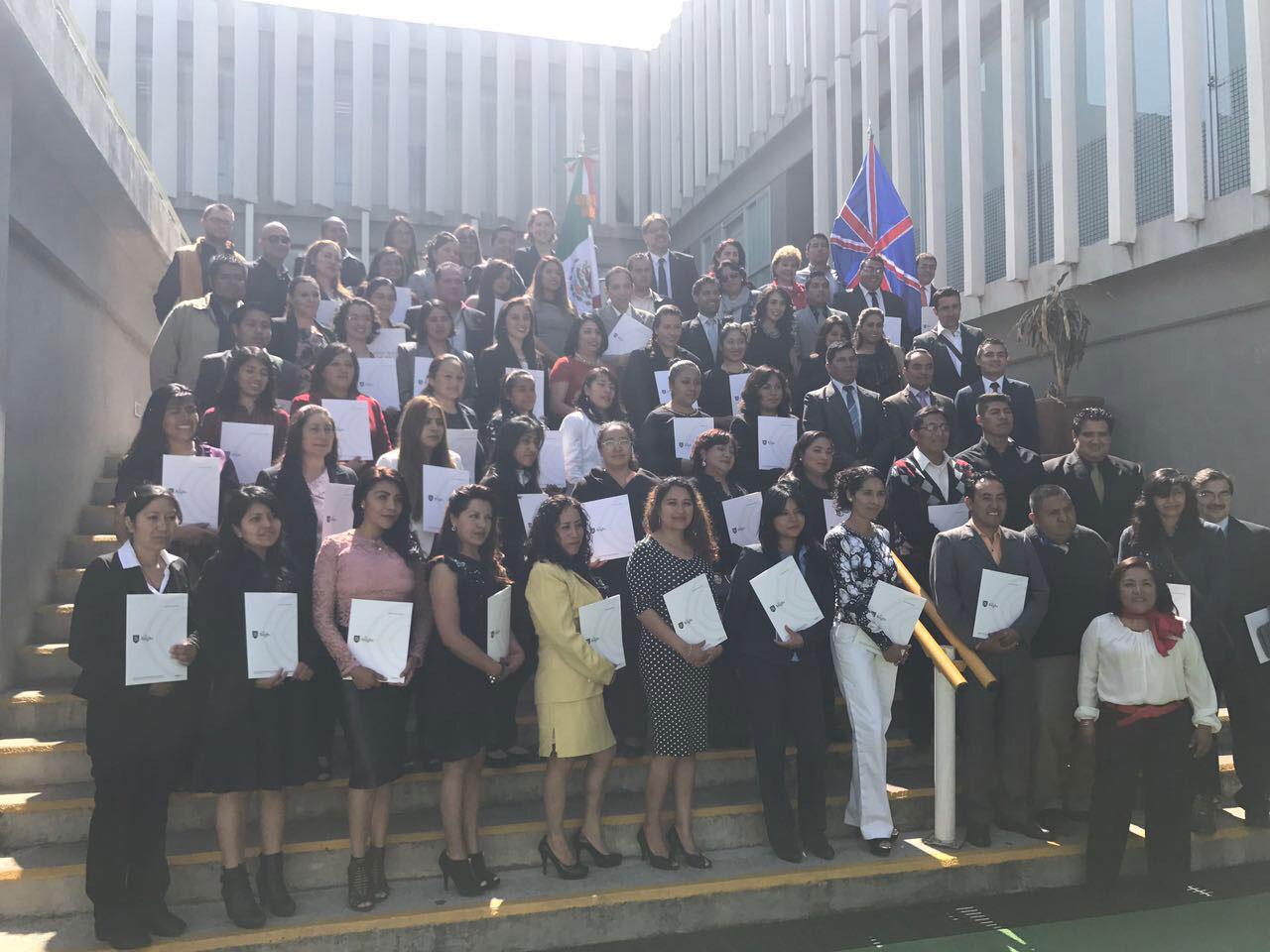 67 profesores de Tlaxcala reciben certificación Cambridge