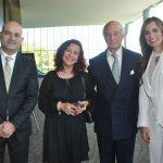 Jack Sahakian, Patricia Mercado, José Carral e Ingrid Irivarren