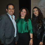 Enrique Gómez, Karina Orrantia y Gabriela Portes