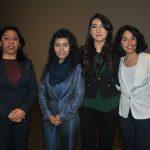 Gabriela Moreno, Paulina Escárcega, Isis Montes de Oca y Elizabeth Obrajero