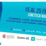 Por cuarto año consecutivo, Air Canada y la Cineteca Nacional presentan QuebecineMX
