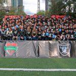 Raiders de Oakland, patada de despeje de trabajo comunitario en la CDMX
