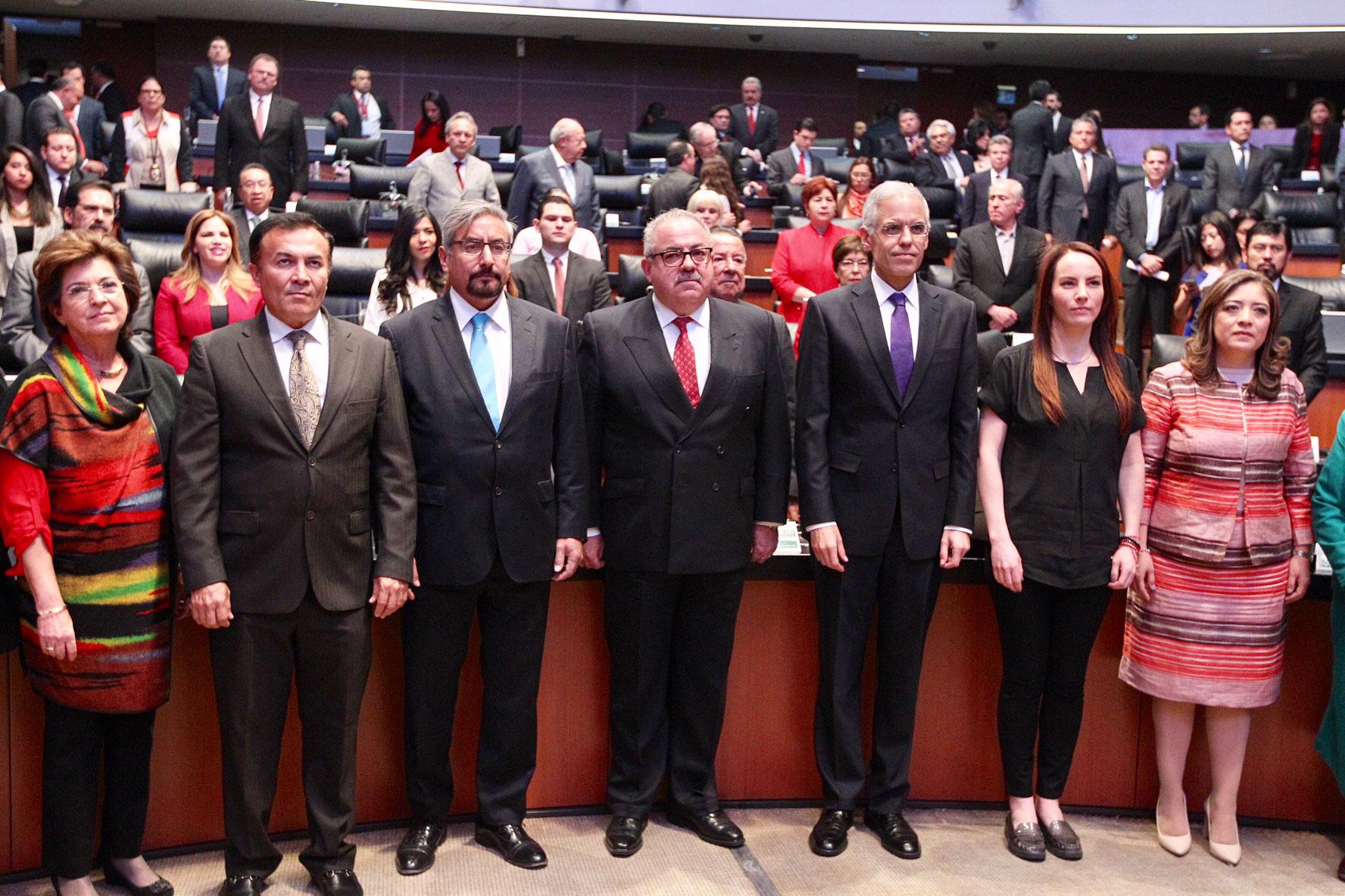 El Senado de la República ratifica los nombramientos de los embajadores de México ante el Reino Unido, Alemania y Grecia