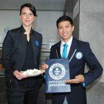 Ophelie Richards, directora de Servicios de BBVA Bancomer, y adjudicador oficial de Guinness World Records para México y Latinoamérica. Revista Protocolo Copyright©