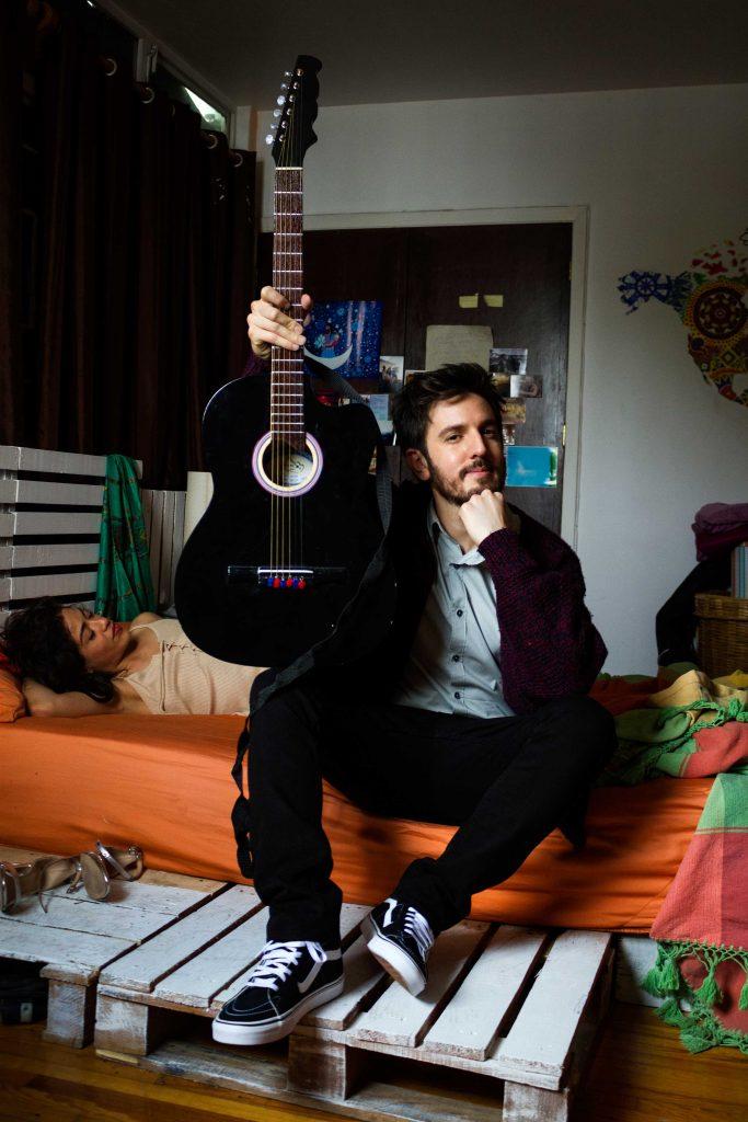 Francisco de la Reguera es músico de rock