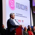 Revive GCDMX fiesta deportiva por 50 años de Juegos Olímpicos de México 1968
