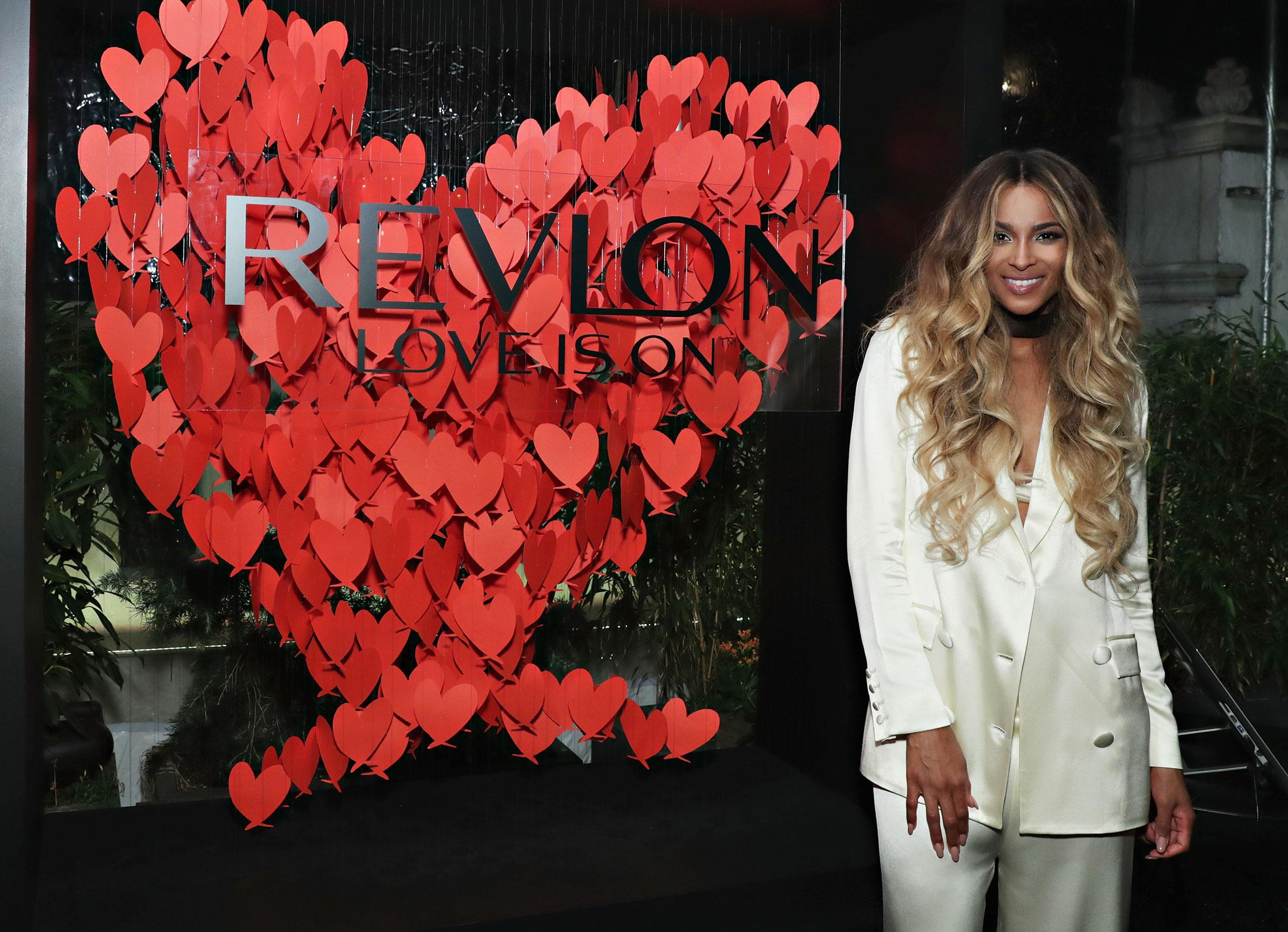 La cantante y bailarina Ciara, nueva embajadora Revlon
