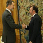 Se reúne el canciller Luis Videgaray con el rey Felipe VI