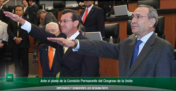 Rinden Protesta Los Nuevos Embajadores Ante Guatemala Y