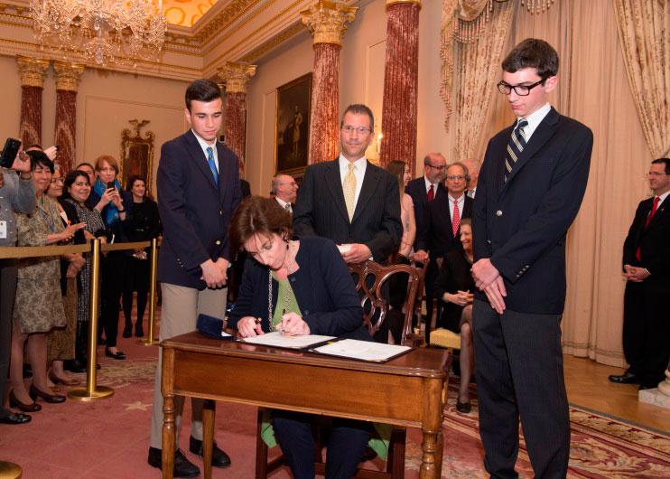 La nueva embajadora de Estados Unidos en México, Roberta Jacobson