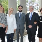 Leonor García, Natalia Gil, Pablo Solórzano, Enrique Ramírez y Mónica Bollain