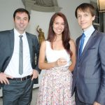 David Mirzoyan, Ekatezina Pivikova y Andrey Evdokimov