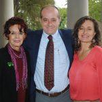 Marcela Fernández-Violante, Ernesto Sánchez y Tania Olhovich