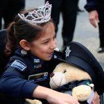 Samantha, la policía federal más joven