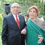 Raphael Stegler y Mireya Terán