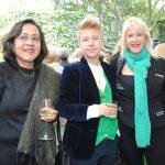 Ruth Munguía, María Kelly y Collen Patton