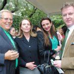Mike Stark, Tamara Hawkins de Brenes, embajadora de Nicaragua; Arlene Zavala y Stephen Murray