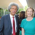 Luigi Maccotta, embajador de Italia, y Sonja Ann Hyland, embajadora de Irlanda