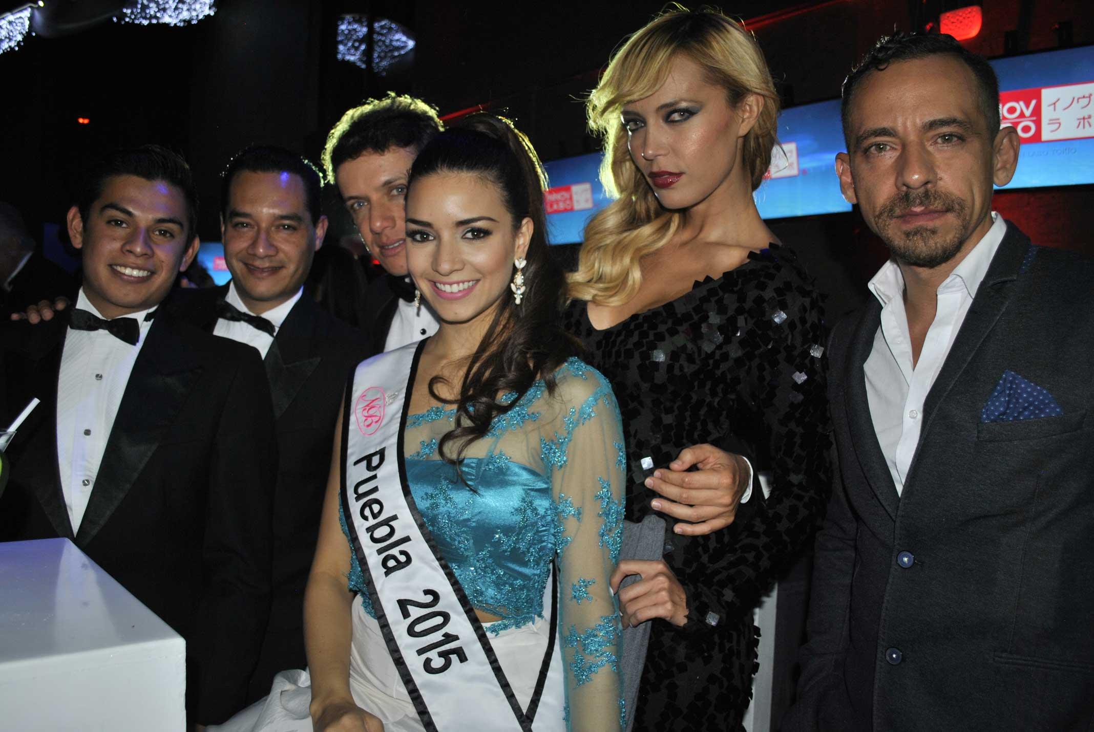 Steffan Flores, Alan Martínez, Jorge Maceda, Lorena Chayban, Jou Glez y René Ortiz