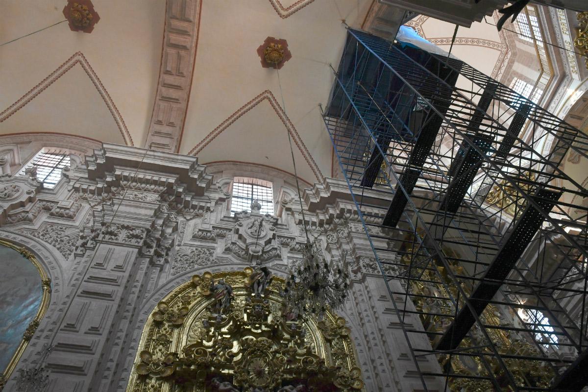 Recuperaci N Del Templo De Santa Prisca Por Da Os Del Terremoto # Muebles En Taxco Guerrero