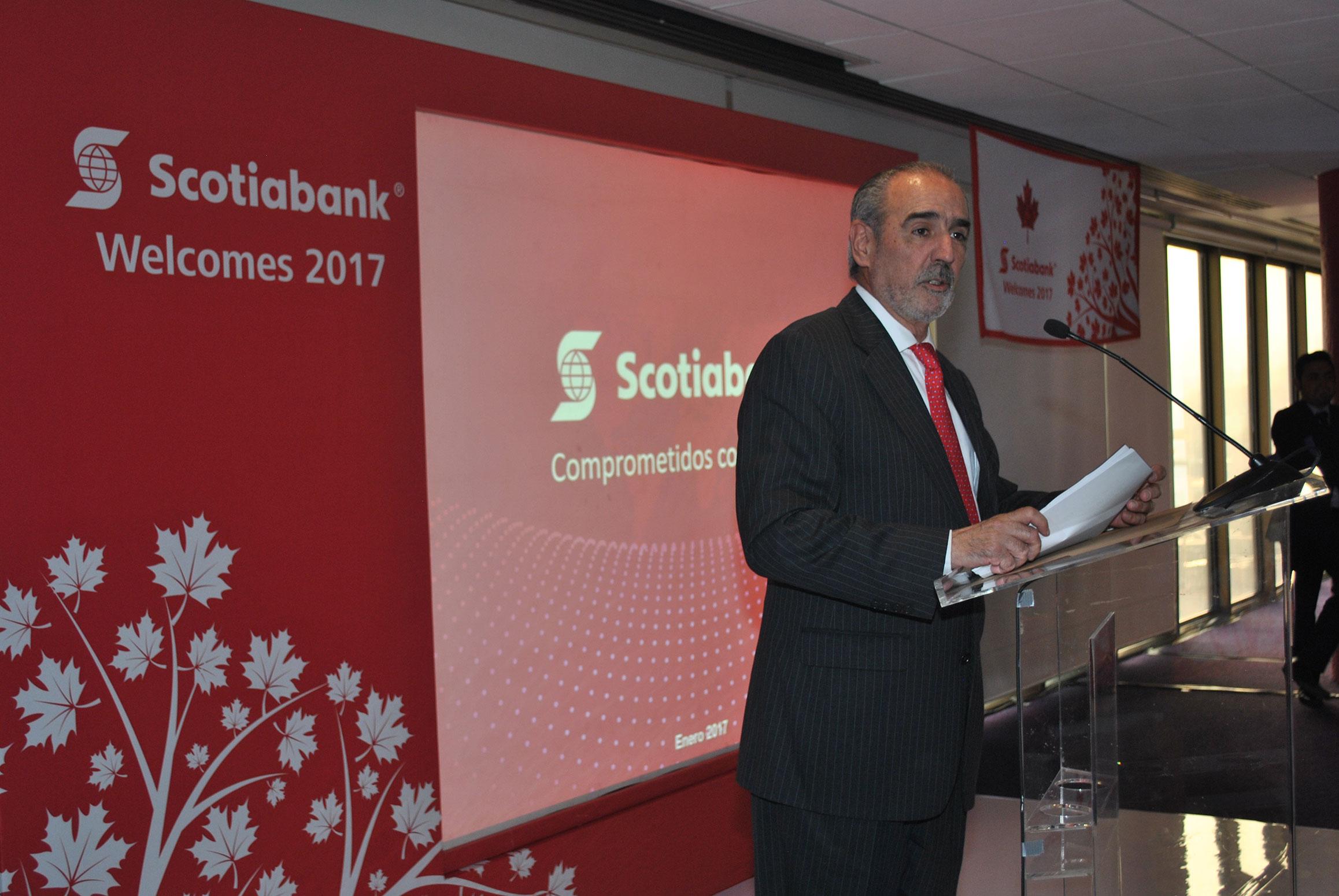 Enrique Zorrilla, presidente y director general de Scotiabank para el Caribe y México