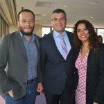 Antonio Hernández, Jaime Núñez y Adriana Urrea
