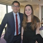 Juan Pablo Spinetto y Michelle Davis
