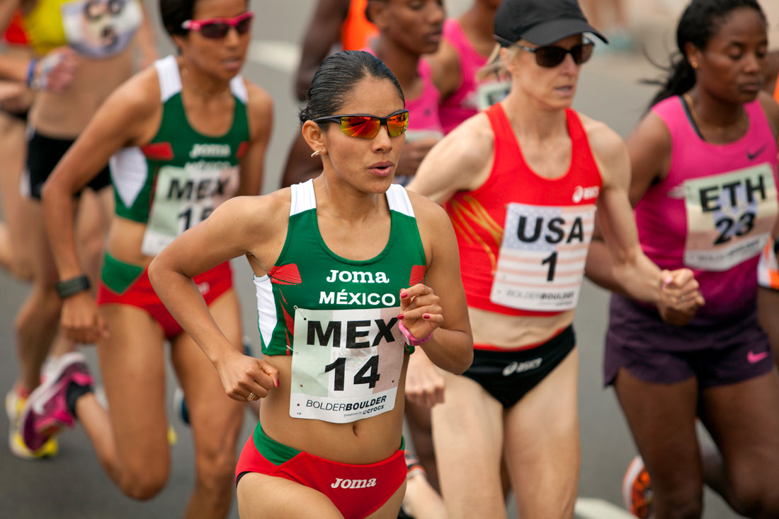 Sargento Marisol Romero, maratón