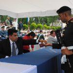Los soldados pudieron cambiar su dinero por las nuevas monedas de 20 pesos conmemorativas por el cincuentenario del Plan DN-III-E. Revista Protocolo Copyright©