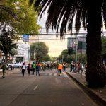 Ingenieros Militares con maquinaria pesada en aplicación del Plan DN-III-E en la Ciudad de México