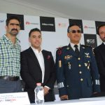Pedro Mussi, Jesús Gabriel López, Paris Rodrigo y Rodrigo Hevis, presentaron la F1 Fanzone. Revista Protocolo Copyright©