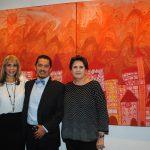 ¡Histórico! Gina Daboub y Mauricio Soria en una sola exposición