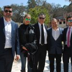Mario Galván, Itzel Silva, Guillermo Rebolledo, Arturo Macías y Guillermo Rebolledo hijo
