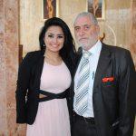 Cinthia Rivera y Fernando Santos