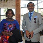 Ode Amnedy, embajador de Nigeria, y su esposa