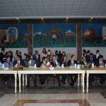 En el recién inaugurado Salón Embajadores del Gran Relax Business Center Spa & Resort, se ofreció una comida