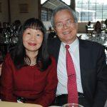 Clara Tsé y su esposo, Carlos S. C. Liao, director de la Oficina Comercial y Cultural de Taiwán en México