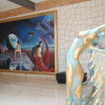 Más de 2,500 obras, entre esculturas y pinturas, se exponen en el Gran Relax Business Center Spa & Resort