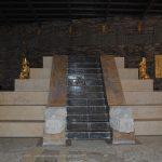 El temazcal tiene forma de pirámide azteca