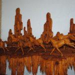Retablos de madera fina, dignos de admirar por horas