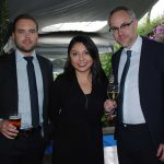 Luding Nahin, Lorena Matus y Olof Hallerman. Revista Protocolo Copyright©