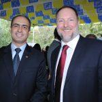 Rudy El Azzi, encargado de Negocios A. I. de la Embajada de Líbano en México, e Iván Pál Medveczky, embajador de Hungría. Revista Protocolo Copyright©
