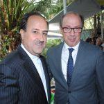 Mohammad Taghi, embajador de Irán, y Ara Aivazian, embajador de Armenia. Revista Protocolo Copyright©