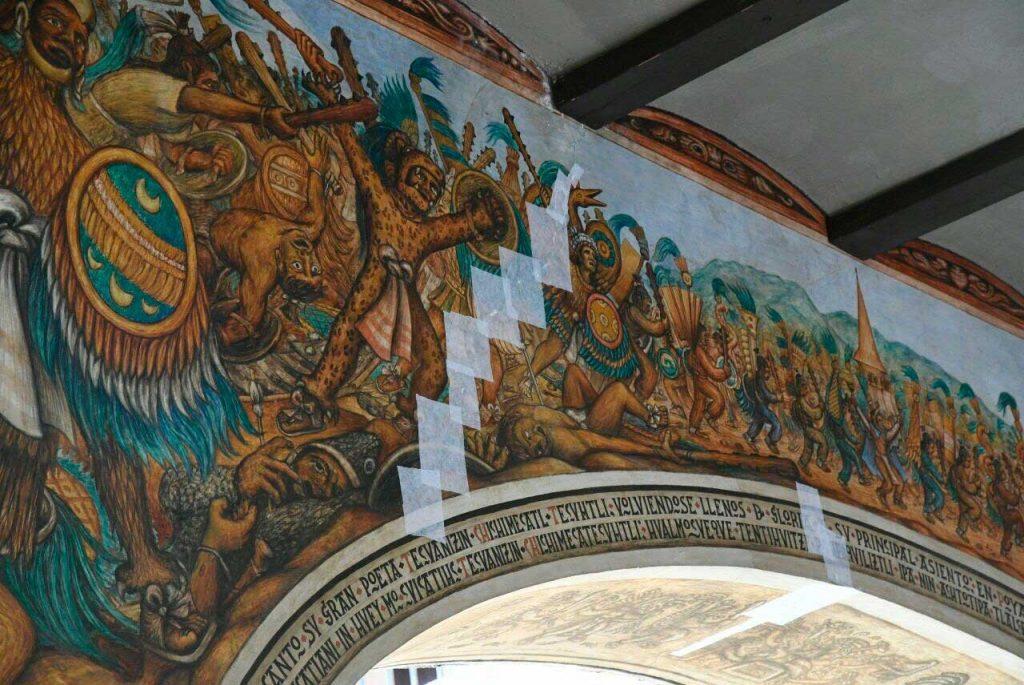 Vigilan reconstrucción de Basílica de Tlaxcala, dañada por terremotos