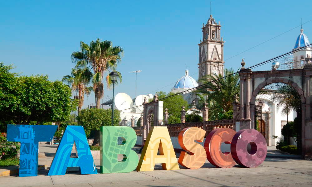 """""""…vamos a Tabasco que Tabasco es un edén"""""""