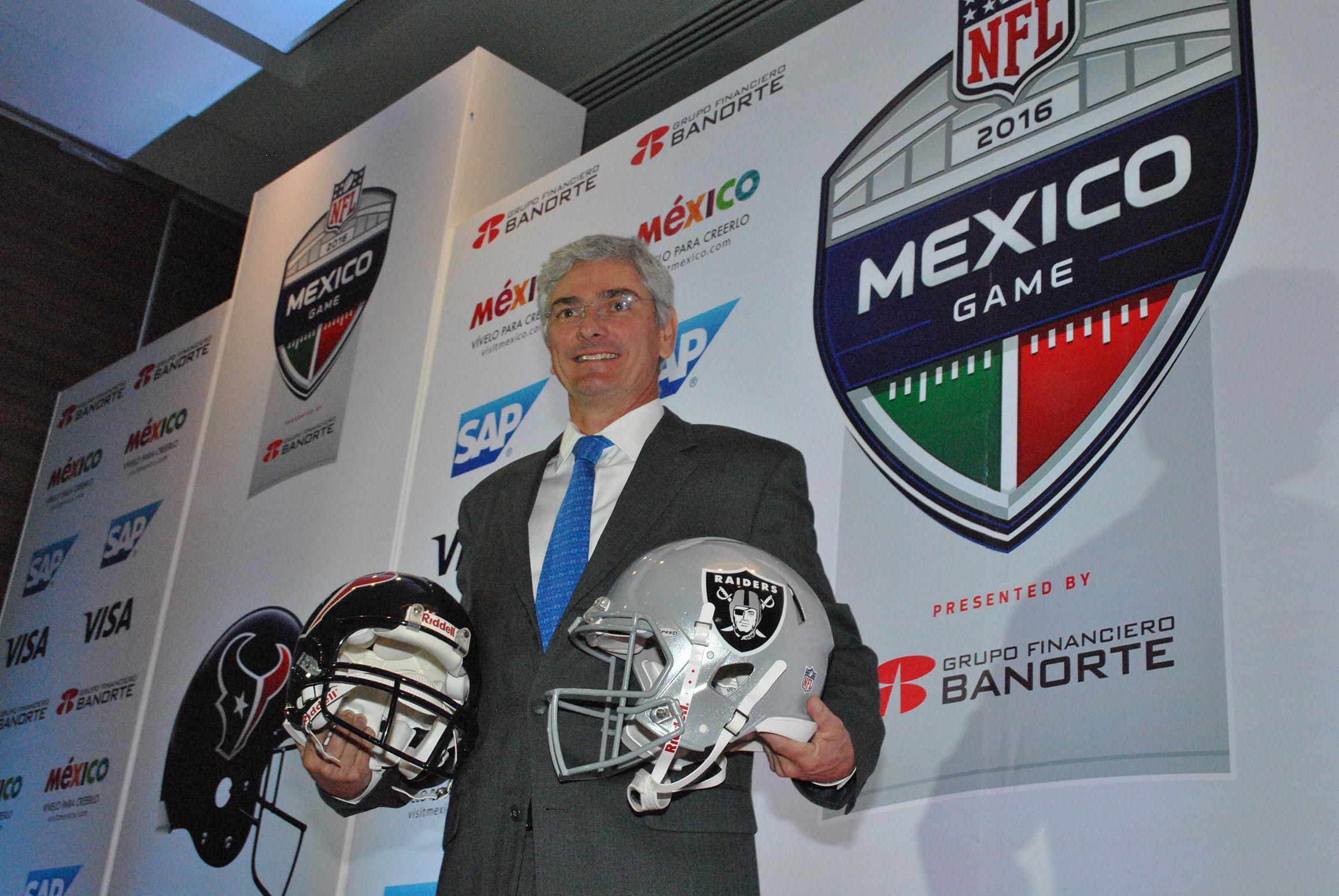 Arturo Olivé, director de NFL México, informó sobre las fechas de la venta de boletos y el precio de estos