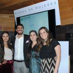 Directivos de Yves Rocher México: Susana Rivero, Arturo Montalván, Angelique Hernández y Gabriela Villegas