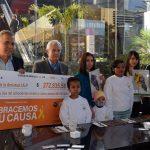 Entrega Toks donativo de más de 270 mil pesos a Casa de la Amistad