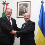 Ucrania y México celebran 25 años de relaciones diplomáticas
